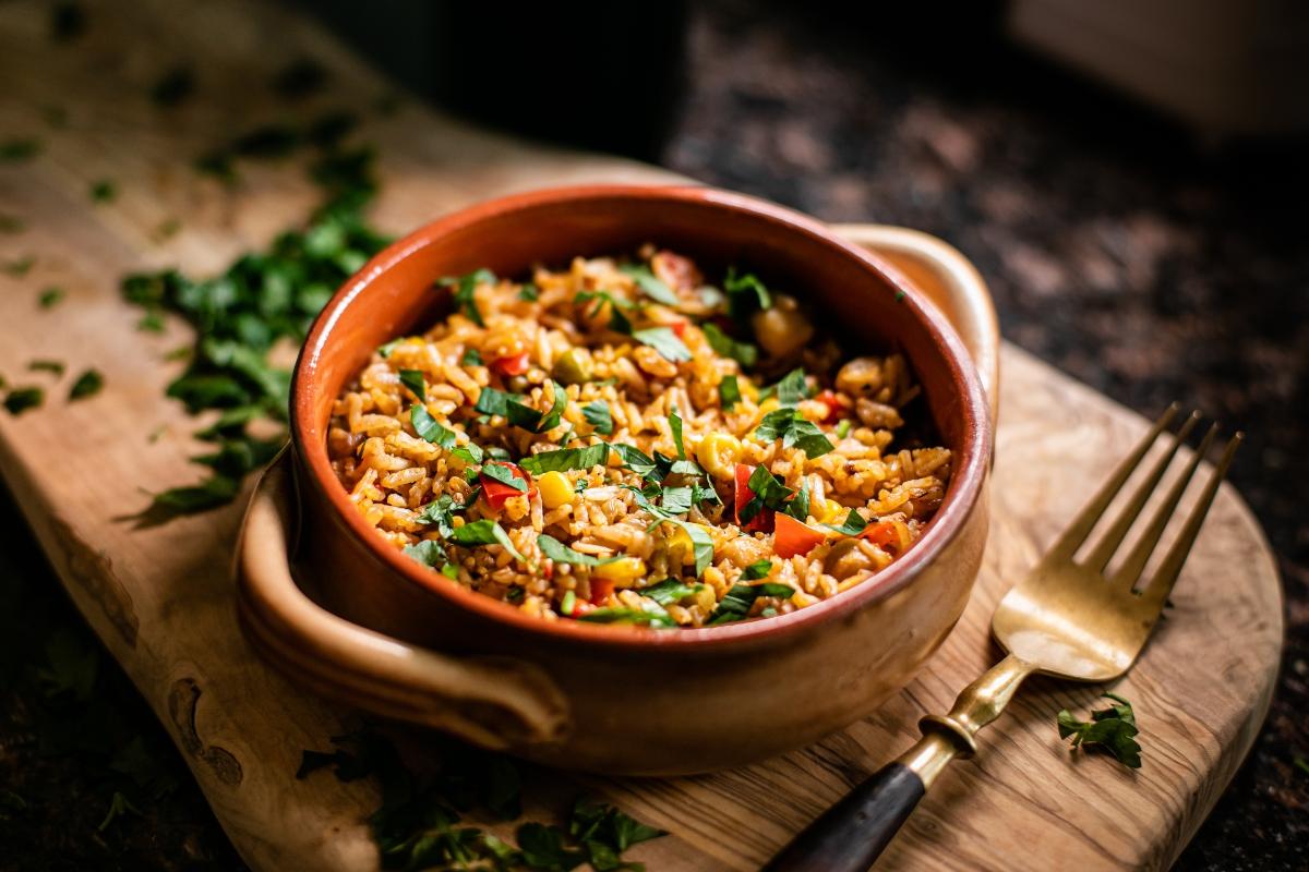 Ricette con riso: risotto ai peperoni