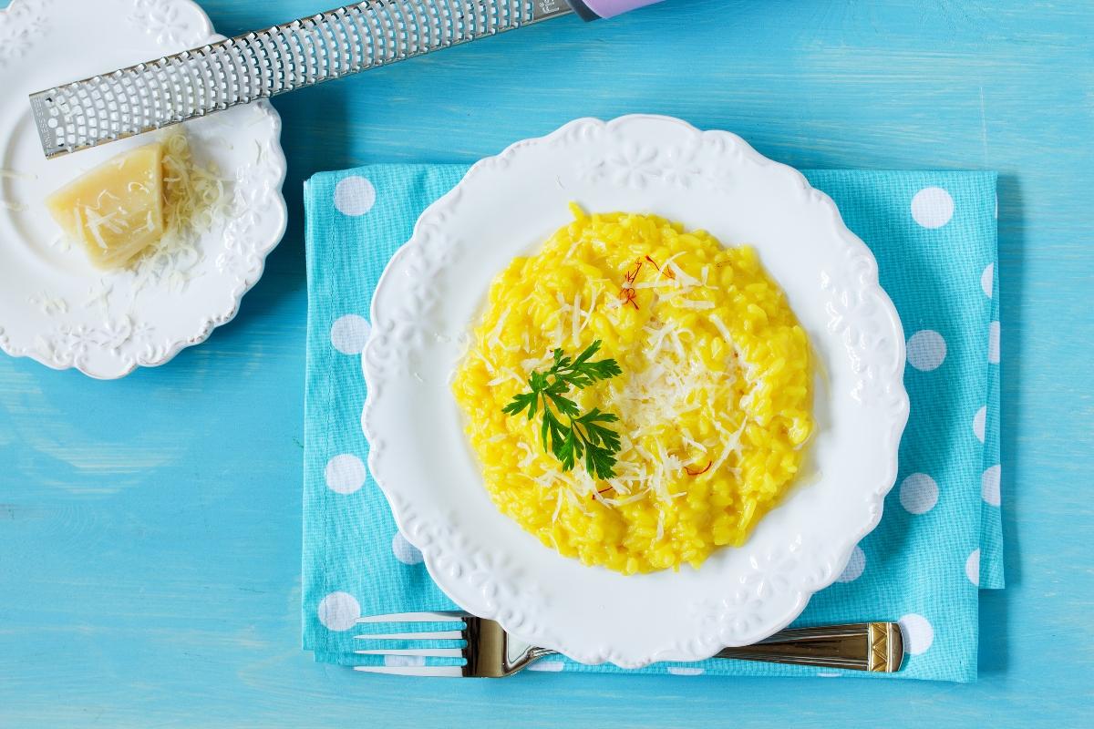 Ricette con riso: risotto alla milanese