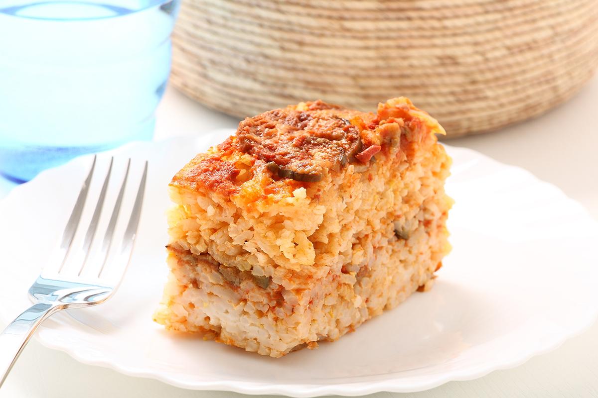 Ricette con riso: sartù di riso