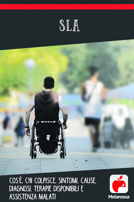 SLA: sclerosi laterale amiotrofica