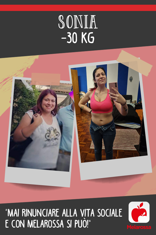 Testimonial Melarossa Sonia 30 kg