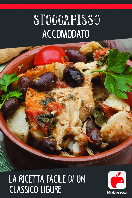 stoccafisso accomodato: ricetta Ligure facile, come prepararlo