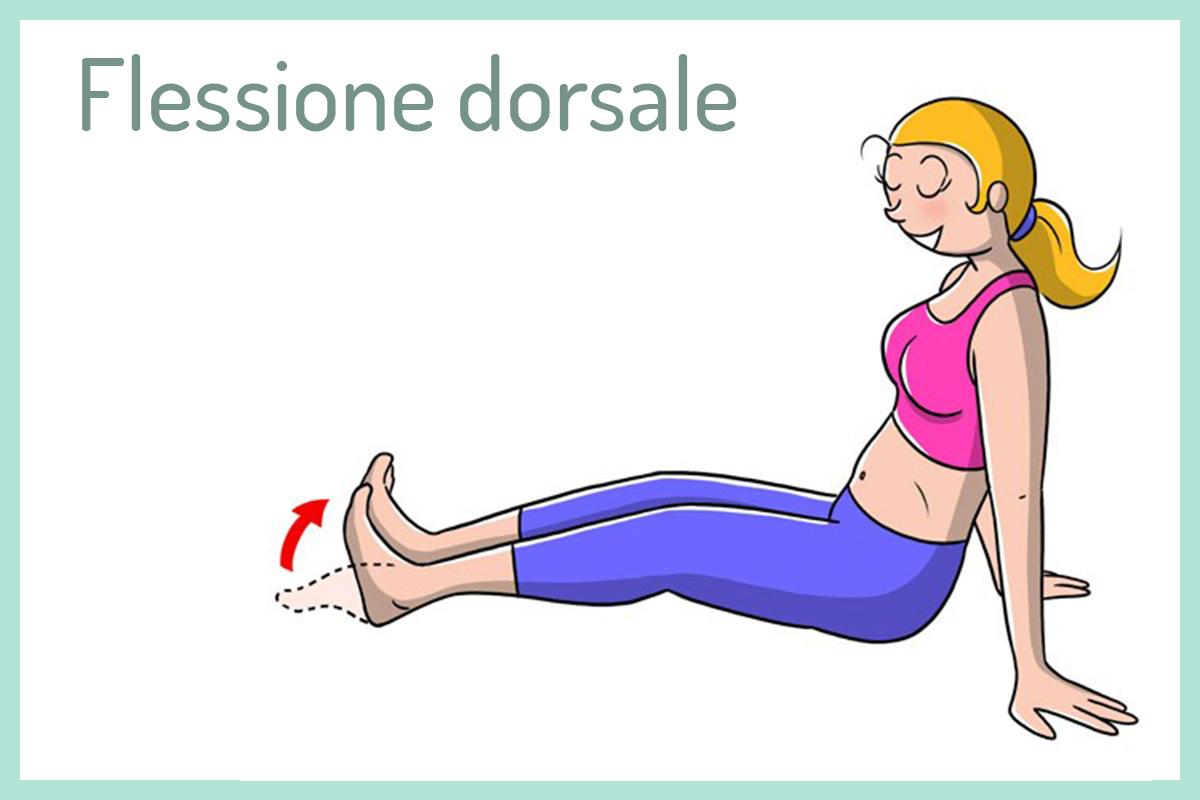 tallonite: flessione dorsale