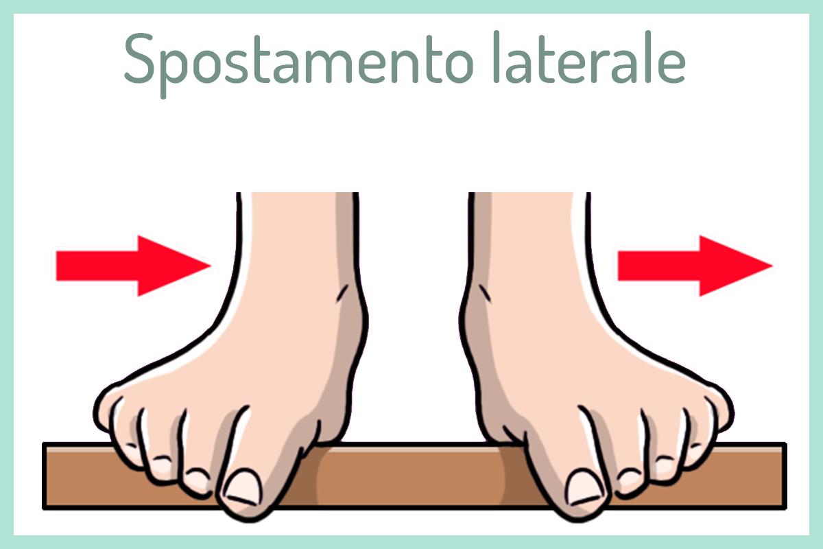tallonite: ginnastica piedi