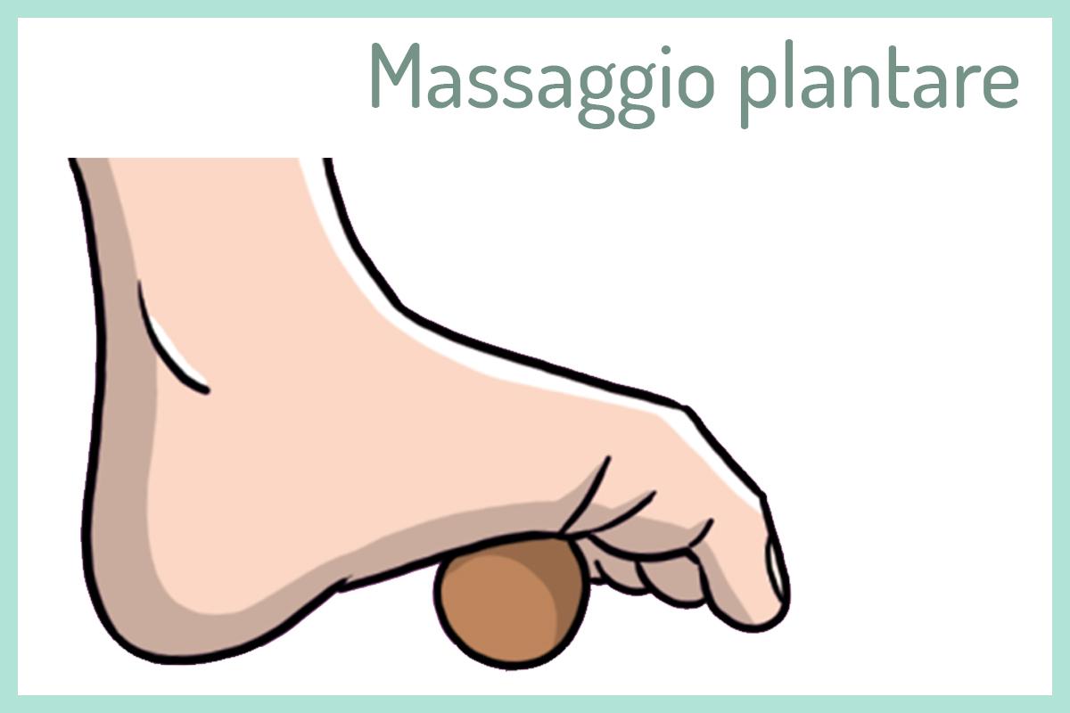tallonite: massaggio plantare con la pallina