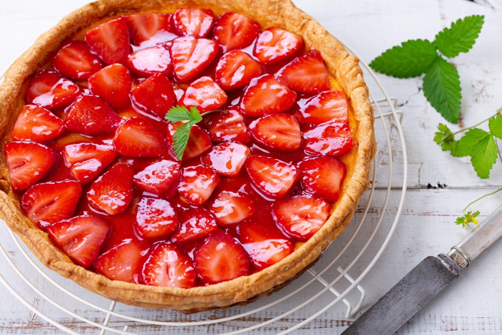 torta alle fragole: benefici