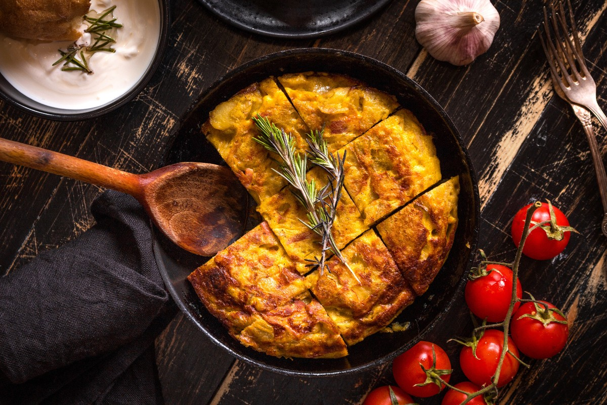 Tortilla spagnola: ricetta