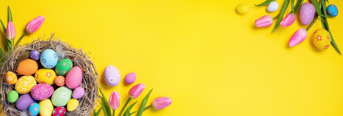 uova di Pasqua: decorazioni
