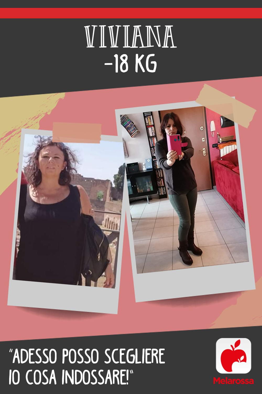Testimonial Melarossa Viviana 18 kg