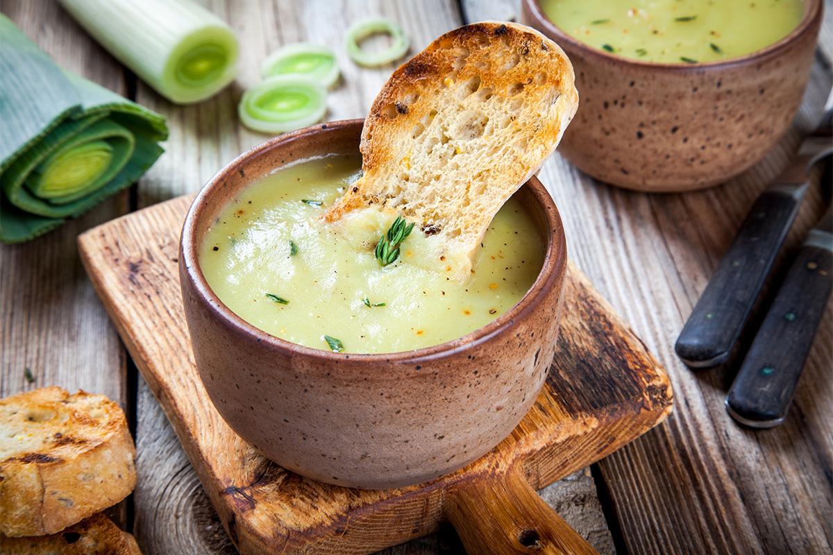 Zuppe fredde: Vichyssoise