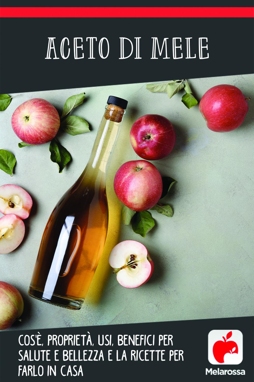 aceto di mele: cos'è, usi, benefici e la ricetta per farlo in casa