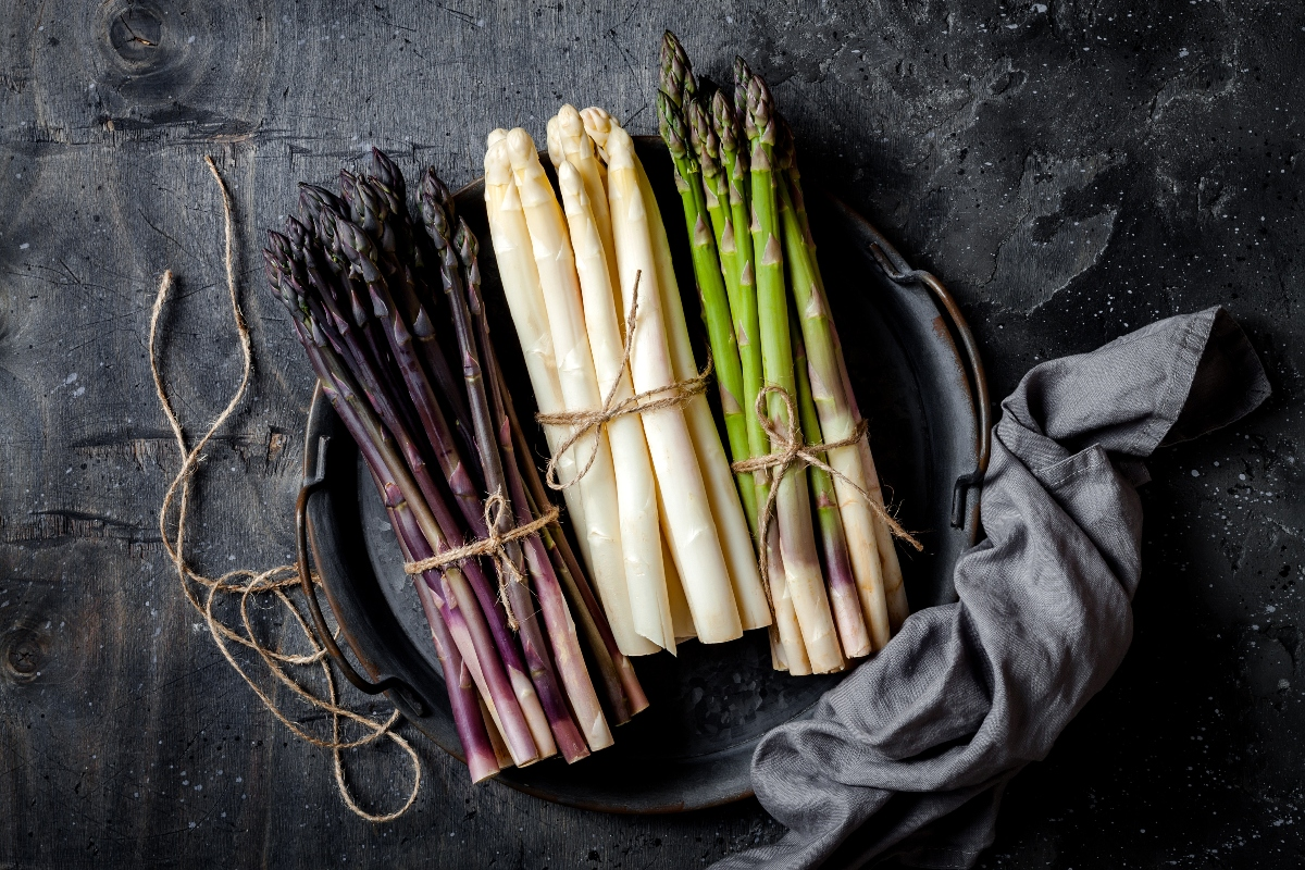 asparagi: benefici per la salute