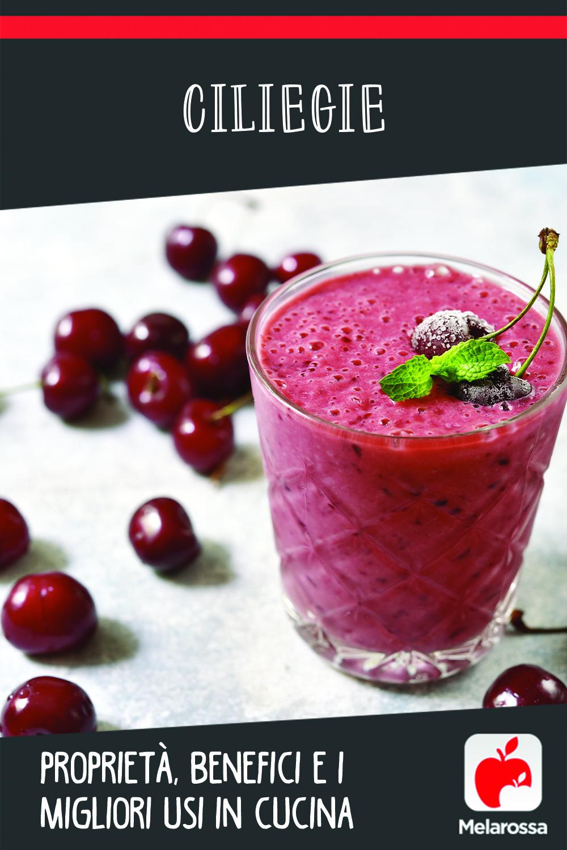 ciliegie: valori nutrizionali, benefici e ricette