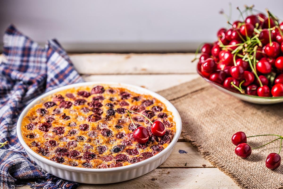 clafoutis alle ciliegie la ricetta
