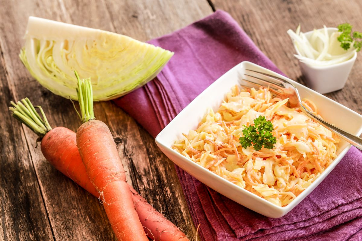 Coleslaw: fresca, ricca, golosa