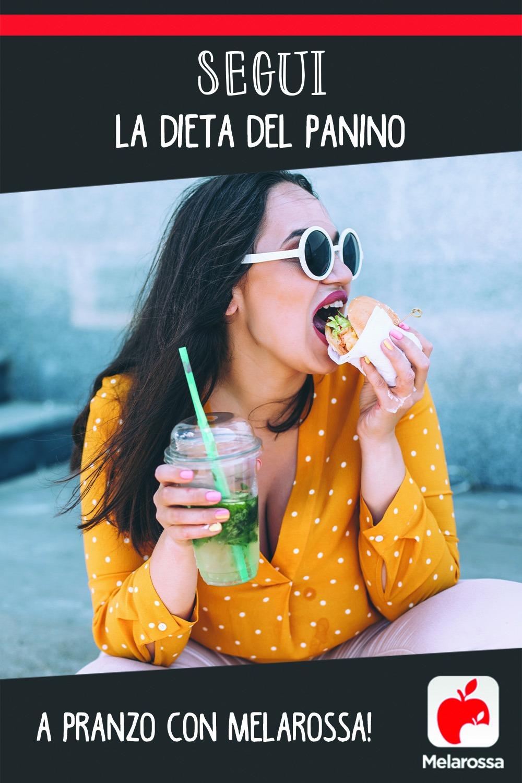 Dieta del panino Melarossa