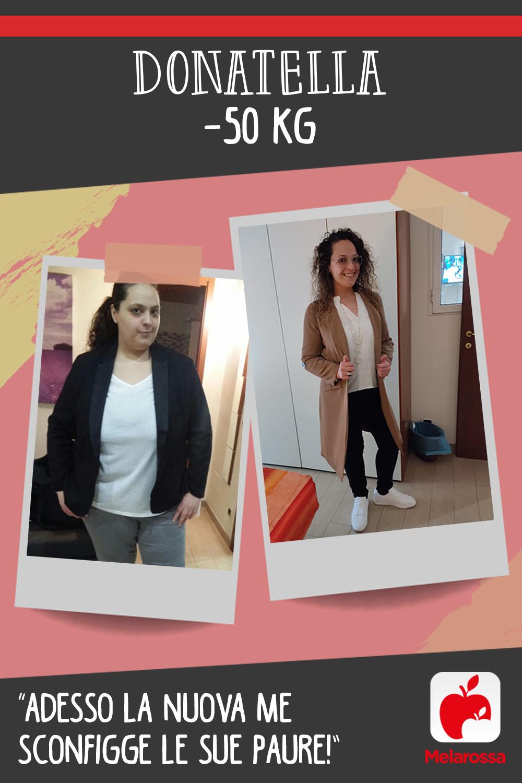 Testimonial Melarossa Donatella 50 kg