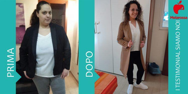 Dieta Melarossa Donatella 50 kg