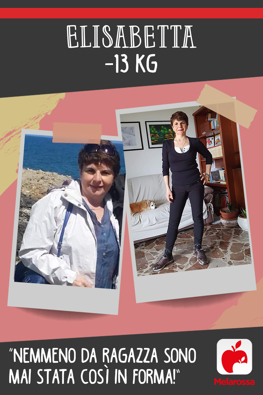 Testimonial Melarossa Elisabetta 13 kg
