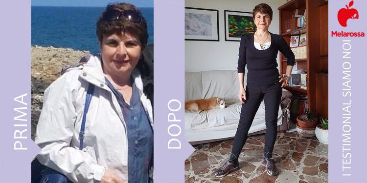 Dieta melarossa Elisabetta 13 kg