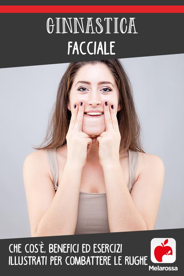 ginnastica facciale per combattere le rughe: esercizi illustrati
