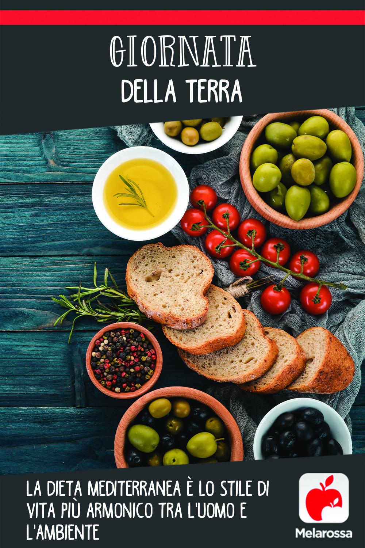 Giornata della Terra: la dieta Mediterranea è lo stile di vita più armonico tra l'uomo e l'ambiente