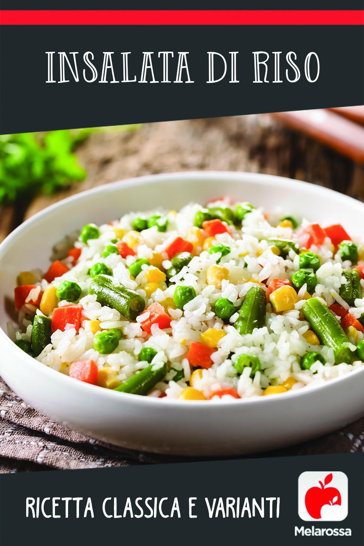 Insalata di riso Pinterest