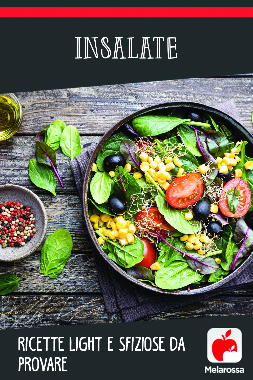 insalate: ricette sfiziose e veloci da mangiare a dieta