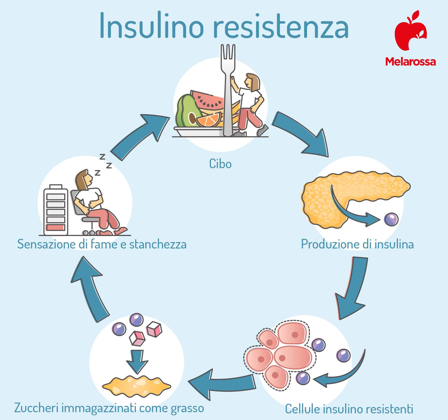 insulino resistenza: cos'è e sintomi