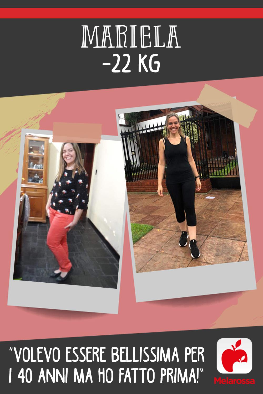 Testimonial Melarossa Mariela 22 kg