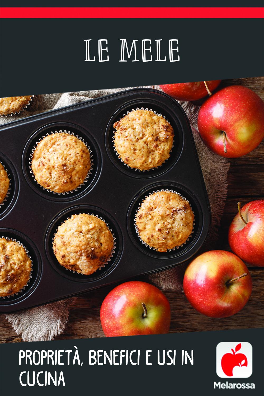 mele: cosa sono benefici e calorie, ricette di cucina