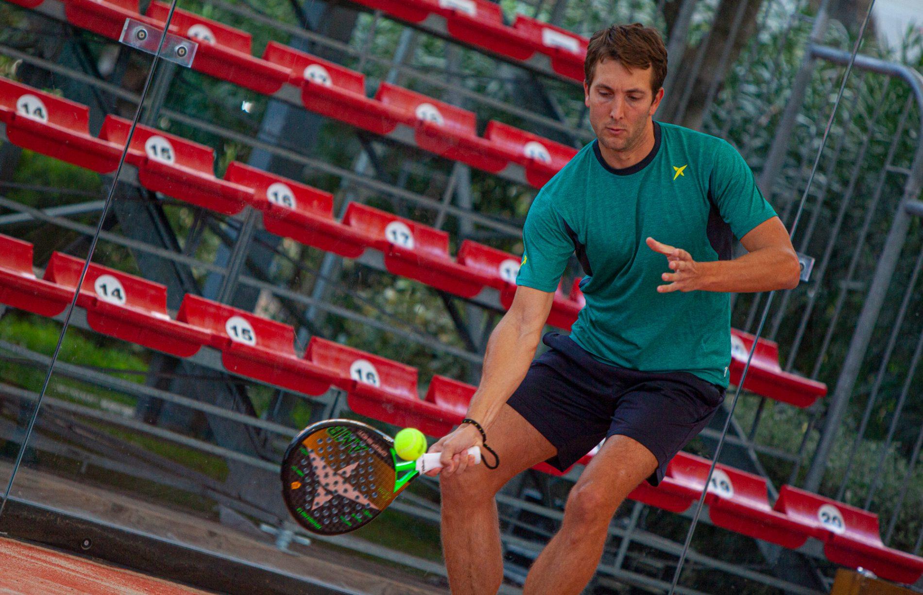 paddel tennis: campione Michele Bruno