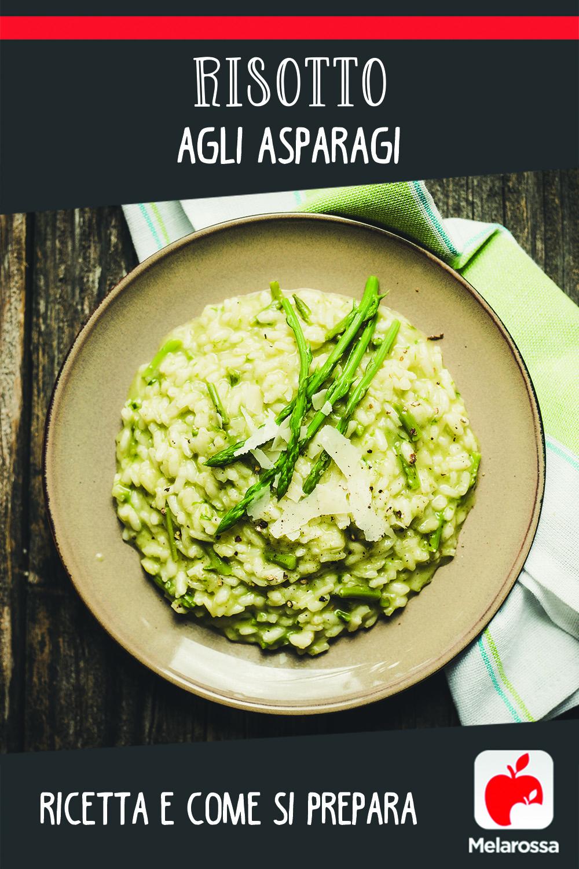 Risotto agli asparagi: Pinterest