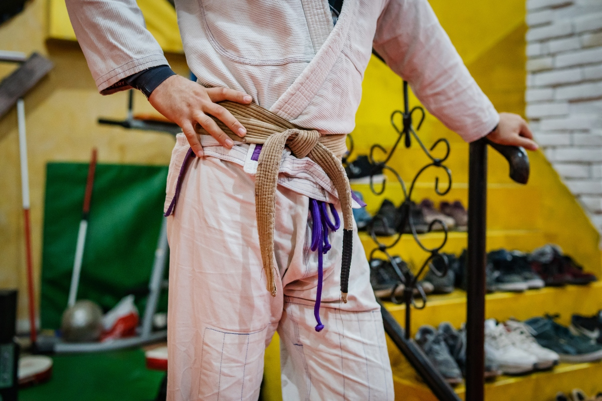 allenamento Ju Jitsu