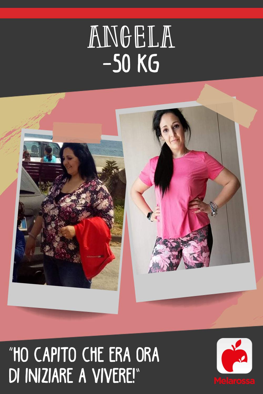 Testimonial Melarossa Angela 50 kg