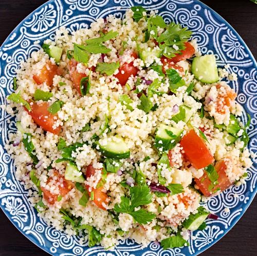 Cous cous di verdure: ricetta