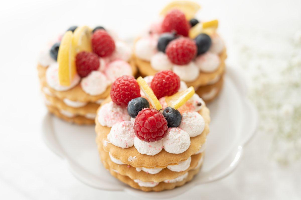 Cream tart: bella e buonissima