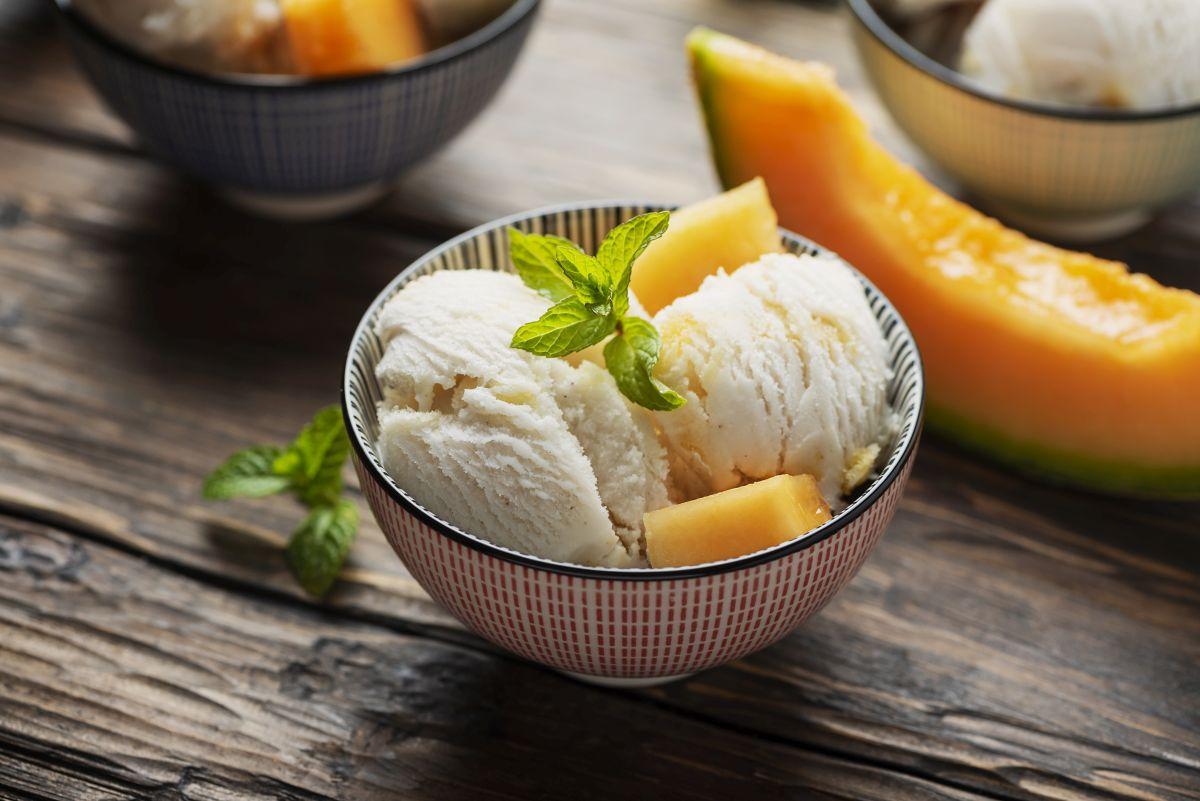 Gelato al melone: un dolce senza sensi di colpa
