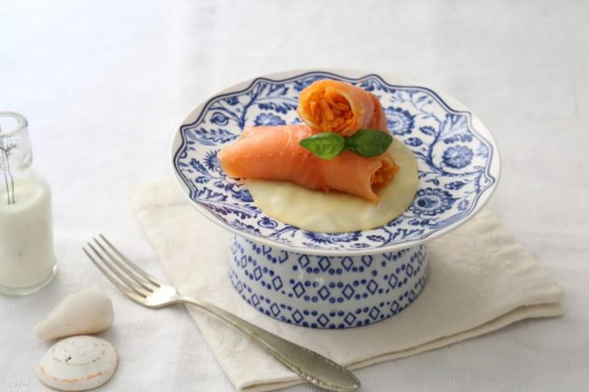 Ricette con il salmone: involtini di salmone