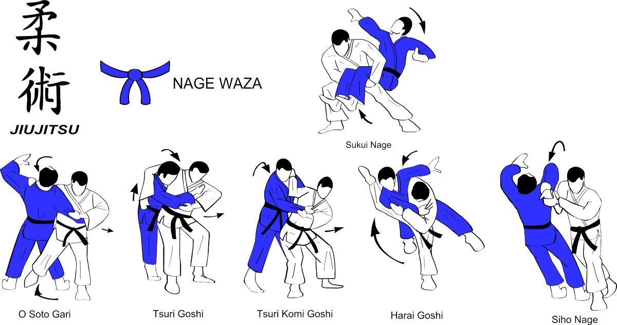 le tecniche del Ju Jitsu