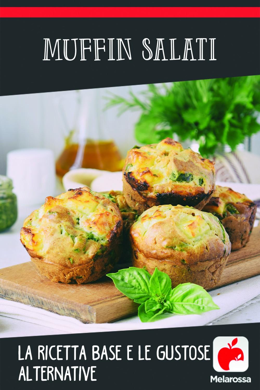 muffin salati, ricetta base