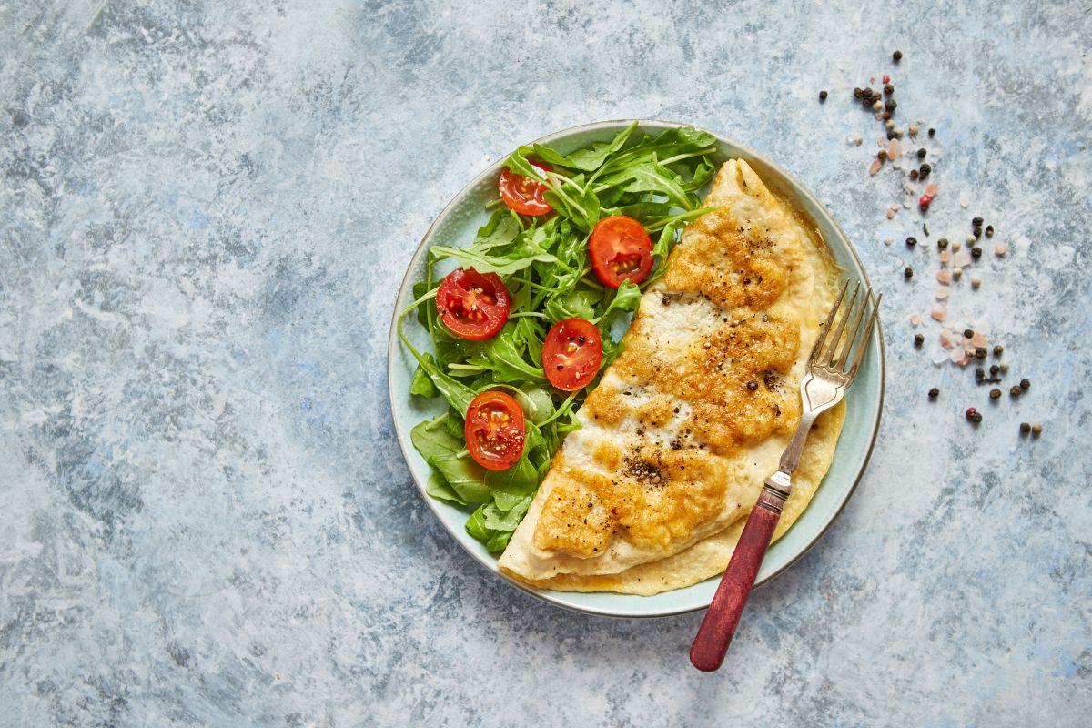 Omelette: con le verdure un pasto completo