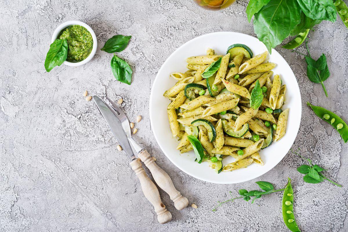 pasta con zucchine: per un pranzo leggero