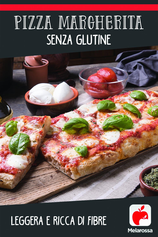 Pizza Margherita senza glutine: leggera e ricca di fibre