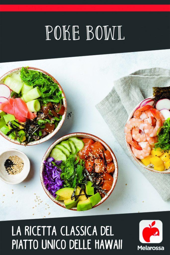 poke bowl ricetta classica