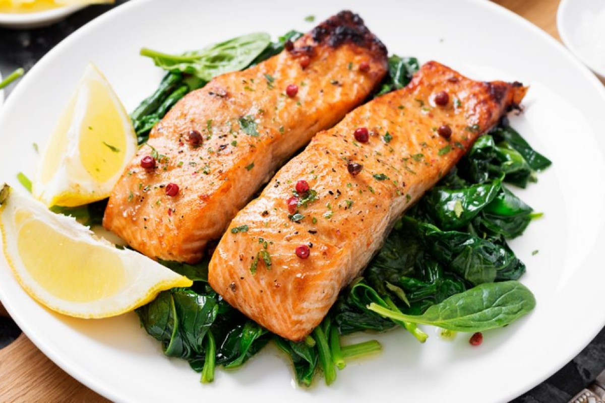 ricette con il salmone: salmone al vapore