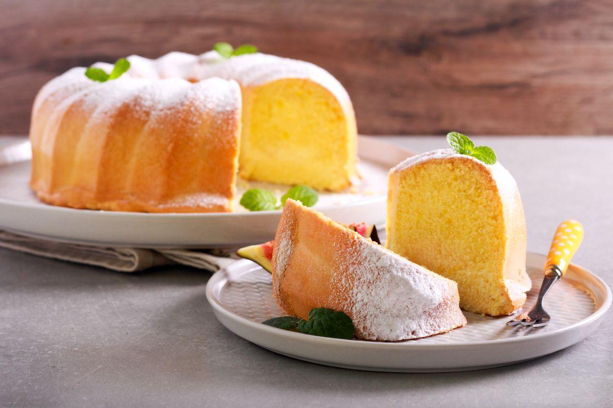 torta al limone: morbida e profumata