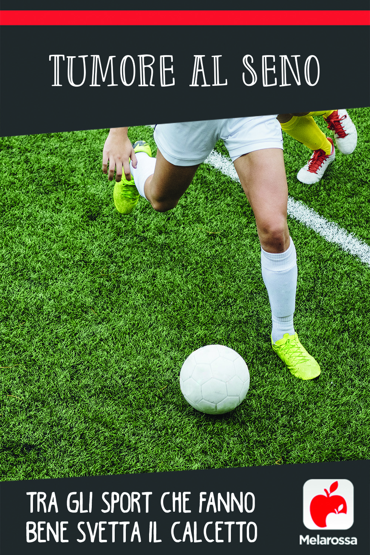 Tumore al seno: tra gli sport che fanno bene svetta il calcetto