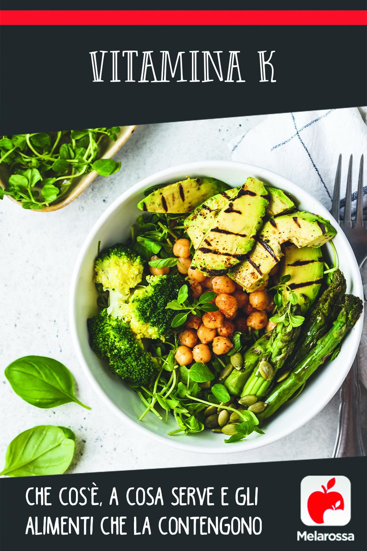 vitamina K: cos'è, a cosa serve e alimenti ricchi