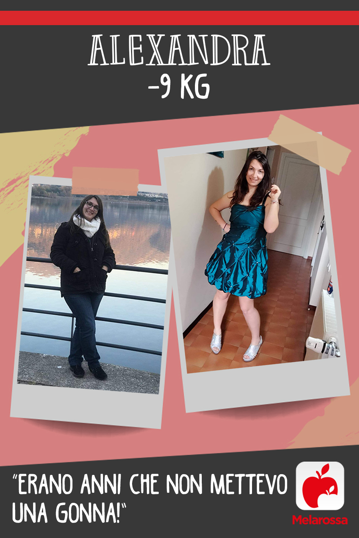 Testimonial Melarossa Alexandra 9 kg